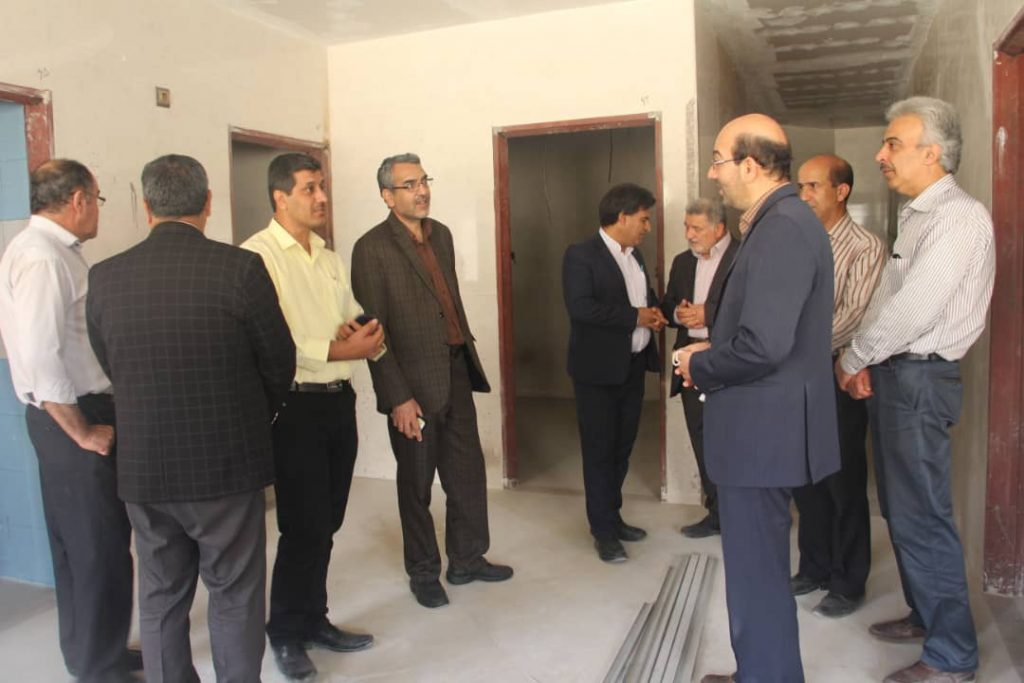 بازدید مسئولان از بیمارستان شهید محمد منتظری