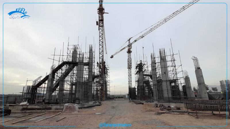 پروژه المان شهری ورودی غربی نجف آباد