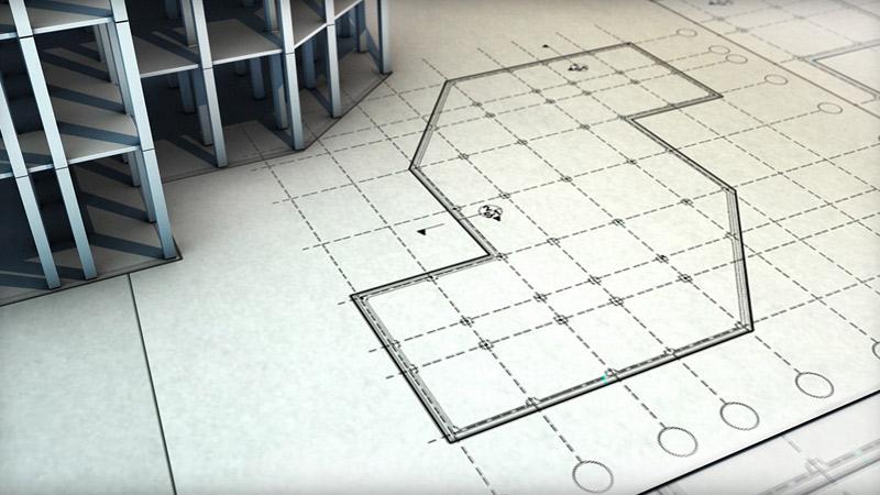 طراحی پلان فونداسیون